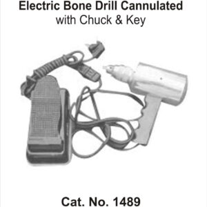 Electric Bone Drill Cannulated