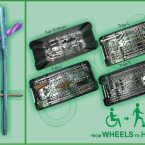 Daksh PFNA Nail Instrument Set With Nail img