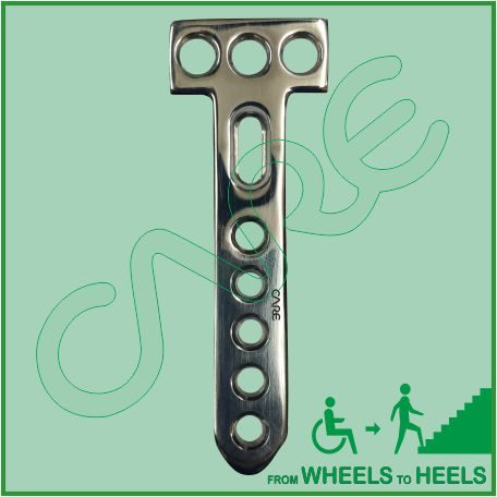 Locking Proximal Tibia T-Plate 4.5mm